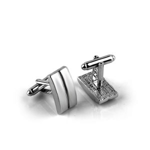 Zinc Alloy Metal Cufflinks for Men Gift pictures & photos