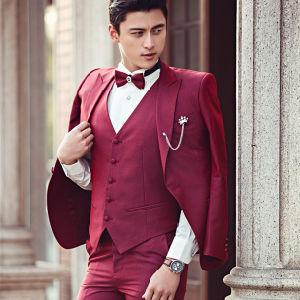New Arrivel Latest Design Wedding Men Classic Fit Suit pictures & photos