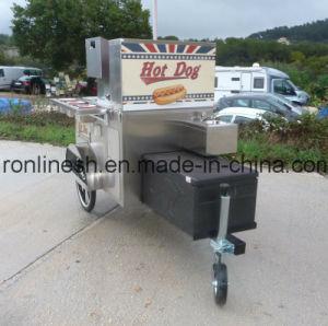 Kiosk Trailer/Charriot Hotdog/Hotdog Cart/Street Food Cart/Catering Trailer/Snack Trailer/Mobile Foodcart /Food Stall/Hamburger Cart CE pictures & photos