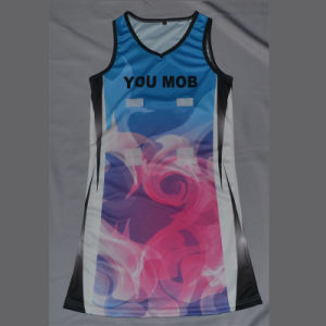 Wholesale Custom Sublimation Netball Dress pictures & photos