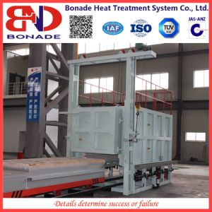 480kw Bogie Hearth Quenching Furnace for Heat Treatment pictures & photos