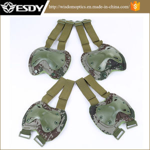 07 Style Camo Outdoor Sports Shock Resistant Tactical Knee Pads pictures & photos