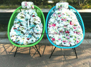 Metal PE Rattan Chair Garden Chair pictures & photos