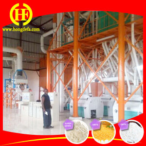 Eruopean Standard 3-10t Per Hour Maize Milling Machines pictures & photos