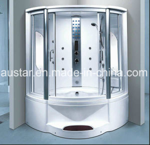 1350mm Sector Steam Sauna with Bathtub and Shower (AT-G8202F) pictures & photos