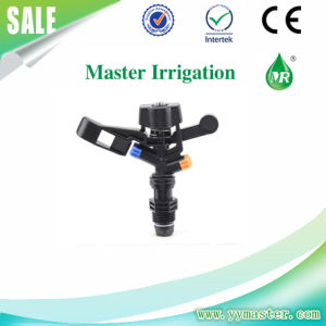 "1/2"" Full Circle Plastic Impulse Male Sprinkler Head for Agricluture Garden"