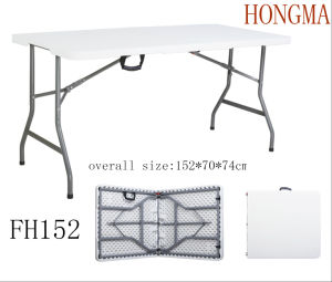 5FT Folding in Half Table Fh152 Modern Furniture Table Outdoor pictures & photos