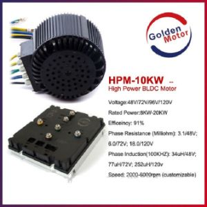 10kw BLDC Motor/ Electric Motorbike Motor/Electric Boat Motor/Electric Car Motor pictures & photos