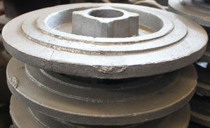 OEM Grey Iron and Ductile Iron Green Resin Sand Casting pictures & photos