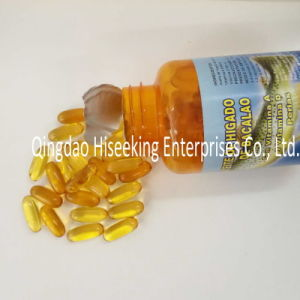 Pharmaceutical Chemicals GMP Certified Cod Liver Oil Softgel with Vitamin a & D pictures & photos