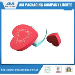 Heart Shaped Chocolate Box Manufacturer White Cardboard Box with Dividers pictures & photos