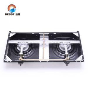 Most Popular Stainless Steel Gas Stove, Two Burners. pictures & photos