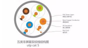 Network Copper Cat5e UTP FTP SFTP LAN Cable Cat5e Cable pictures & photos