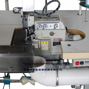 Multifunction Mattress Panel Overlocking and Flanging Machine pictures & photos