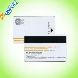 Variable Data Encoding Magnetic Stripe Plastic Loyalty Card pictures & photos