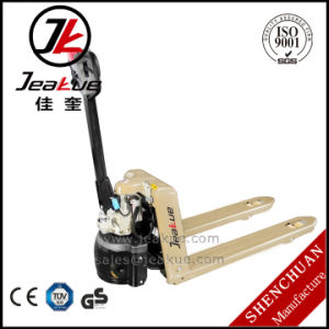 Best Selling Mini 1.5t Semi Electric Pallet Jack pictures & photos