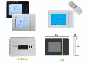 Digital LCD Display Thermostat for Fan Coil pictures & photos