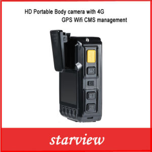 HD Portable Body Camera with 4G GPS WiFi Cms Management pictures & photos