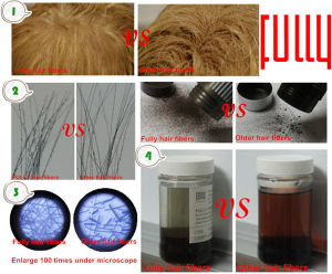 Perfect Hair Loss Solutions Fully Hair Building Fibers pictures & photos