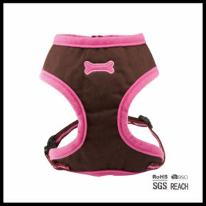 Adjustable Cute Soft Girl Designer Pet Dog Mesh Vest Harness pictures & photos