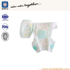 High Absorbent Disposable Velcro Baby Diaper pictures & photos