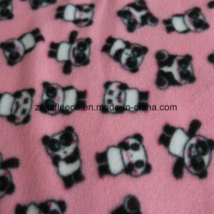 Two Sides Brushed Polar Fleece with Carton Print pictures & photos