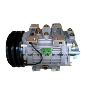 Air conditioner Compressor Original Unicla Ux-330 with 24V Clutch China pictures & photos