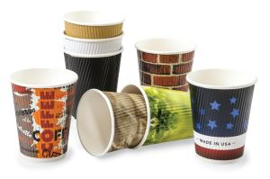 16oz Hot Drinking Logo Printed Paper Cups pictures & photos