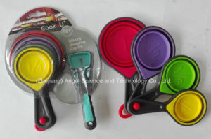 Holiday Silicone Cooking Utensil Measuring Spoon Set Sk18 pictures & photos