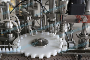 Bottle Filling Plugging Capping Machine for E Cigarette (FPC-100A) pictures & photos