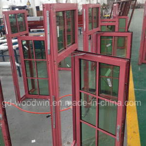 Woodwin Quality Guaranteed Double Glass Thermal Break Aluminum Window pictures & photos