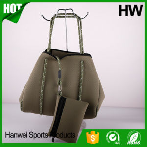 Factory Wholesale Perforated Neoprene Hobo Bag pictures & photos
