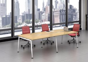White Customized Metal Steel Office Conference Desk Frame with Ht09-3 pictures & photos