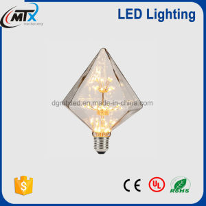Decorative Vintage Edison Light Bulb Glass Diamond christmas Tree Star LED Bulb pictures & photos