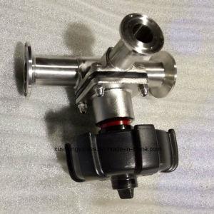 AISI316L T Handle Welding Diaphragm Valve with Double Diaphragm pictures & photos
