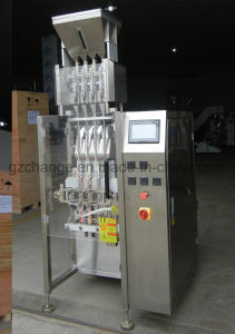 High Capacity Liquid Paste Packing Machine for Ketchp Shampoo Chocolate Paste pictures & photos