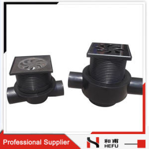 Industrial Installing Metal Cover Double Channel Shower Basement Floor Drain Trap pictures & photos