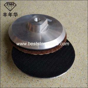 Diamond Velcro Holder Polishing Pad′s Aluminum Backer