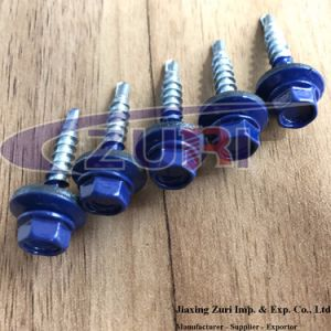 Roofing Screw 4.8X28 Ral 5002 pictures & photos