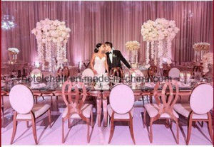 Infinity Gold Stainless Steel Wedding Dining Chair pictures & photos