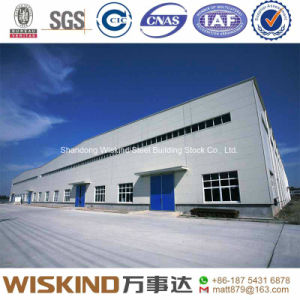 Pre-Engineered Steel Structure for Workshop/Warehouse in China pictures & photos
