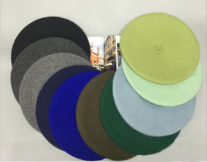 Hot Sale Plain Cheap High Quality Fashionable Wool Beret pictures & photos