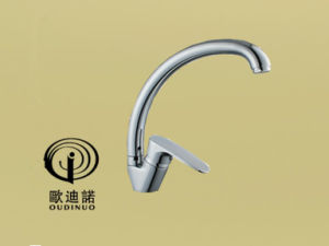 Oudinuo Brass Single Handle Kitchen Mixer & Faucet 70029-1 pictures & photos