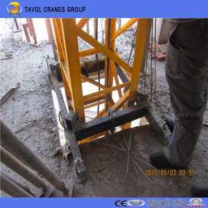 Qtg10 1ton Mini Tower Crane Inner Climbing Tower Crane pictures & photos