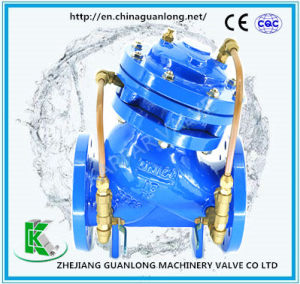 Globe Pattern Multi Purpose Water Pump Control Valve (GJ745X) pictures & photos