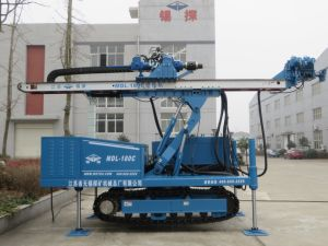 High Power Vibration Anchor Drilling Rig Without DTH Hammer Reduce Hole Accidents pictures & photos