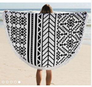 Turkish Round Beach Towel pictures & photos