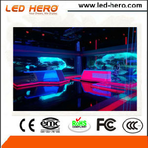 Light Weight with Handle P3.9-7.8mm Transparent Rental LED Display Indoor pictures & photos