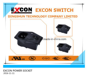 Socket S-03f-11s Power Socket with on-off Switch Good Quality Socket Outlet pictures & photos