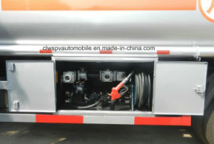 3 Tons 4 Tons Carbon Steel 5 Tons Fuel Tanker Truck for Sale pictures & photos